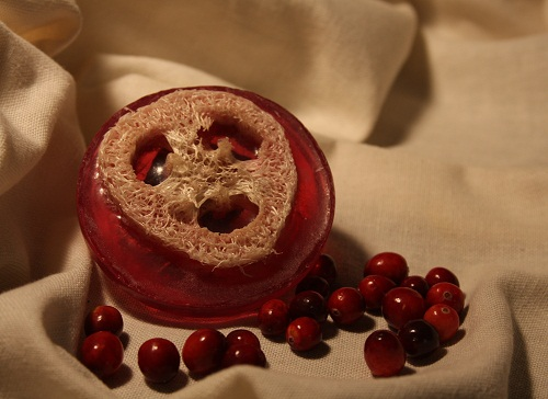 incredible soaps cranberry soap
