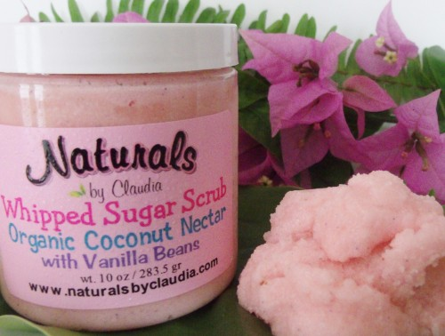 WHIPPED SUGAR SCRUB Coconut Nectar with Vanilla Beans 547