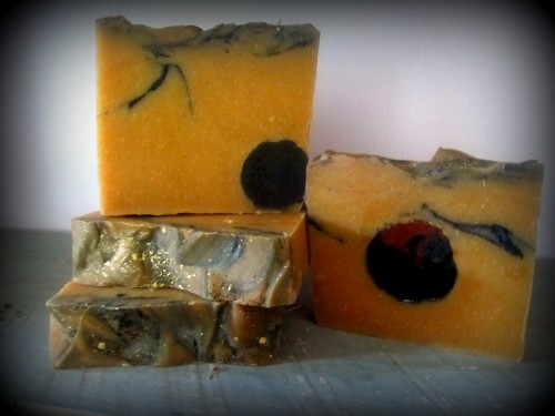 Bubble-and-flame-the-pumpkin smasher-soap