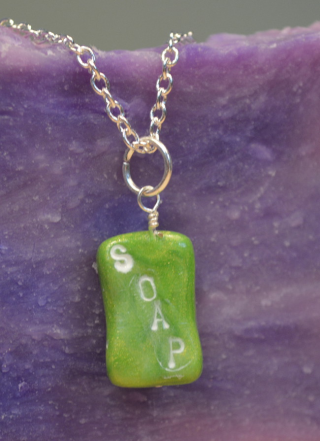 HSCG soap necklace