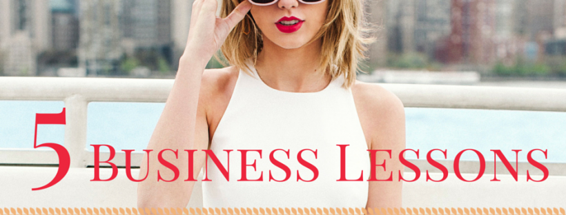 5 Business Lessons to Learn From Taylor Swift