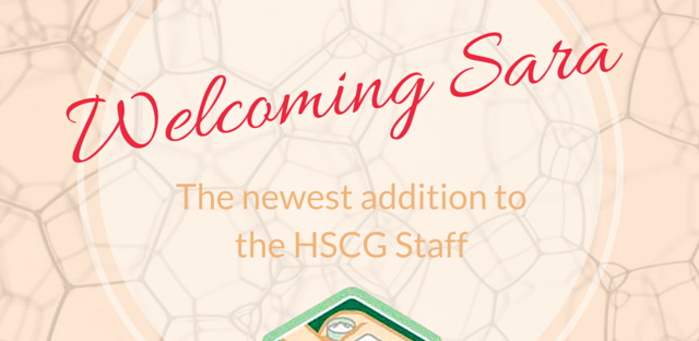 Welcoming Sara: The newest addition to the HSCG Staff!